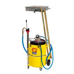MECLUBE Air operated oil suction drainer with pantograph 65 l - 1