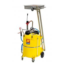 MECLUBE Air operated exhausted oil suction drainer with pantograph 120 l - 1