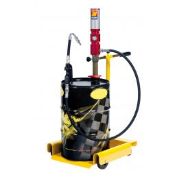 MECLUBE Wheeled oil set suitable for drums of 50–60 l Delivery capacity 30 l/min - 1