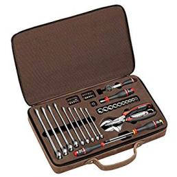FACOM Assortment of 48 tools in a leather suitcase  limited edition - 1