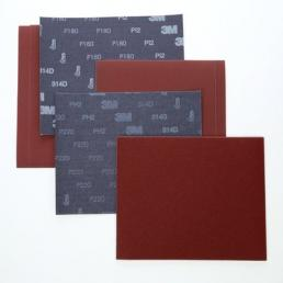 3M Sanding Utility Cloth 314D Red 230x280mm - 1