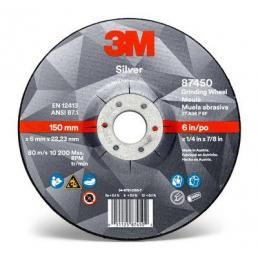 3M Silver Depressed Center Grinding Wheel, T27 - 1