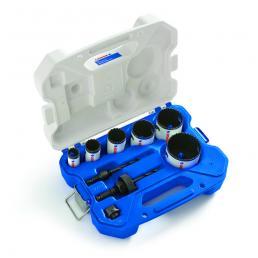 LENOX ชุดเลื่อยเจาะรูกลมโลหะคู่ SPEED-SLOT® T3™ สำหรับช่างไฟฟ้า 9 ชิ้น - 1