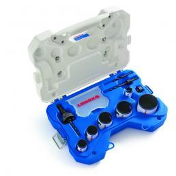 LENOX ชุดเลื่อยเจาะรูกลมโลหะคู่ SPEED-SLOT® T3™ สำหรับช่างไฟฟ้า 10 ชิ้น - 1