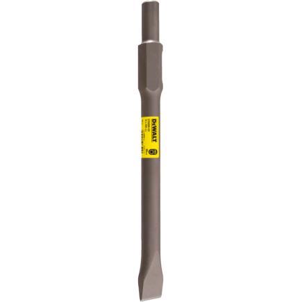 DeWALT 30mm Hex Chisel 410mm - Flat - 1