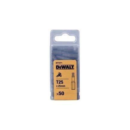 DeWALT 25mm Torsion Torx Bits (20 pcs) - 1